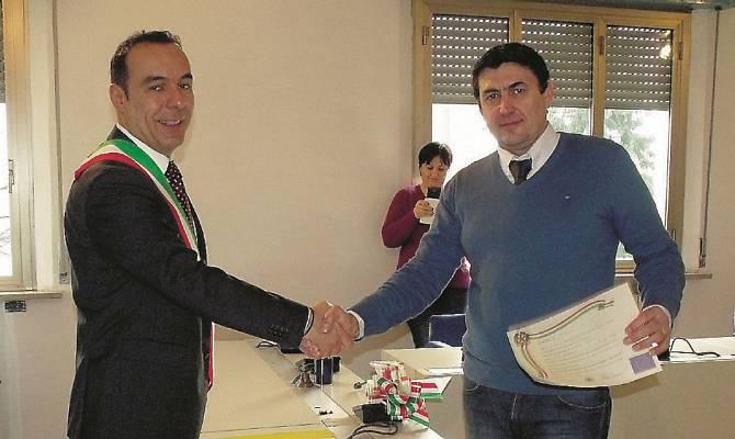 Kujtim Mehmeti, ditën e betimit për shtetësinë italiane