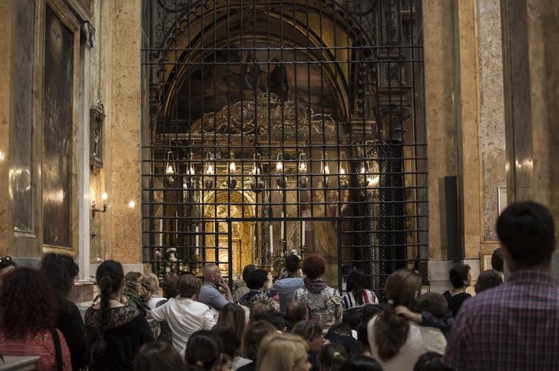 La cappella della Chiesa della Madonna del Buon Consiglio a Gennazzano ©Giuseppe Marsoner