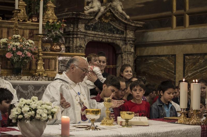 La Messa e i bambini - ©Stefano Majolatesi