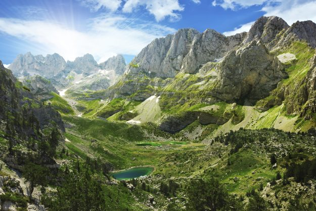 Albanian Alps, by Lenar Musin