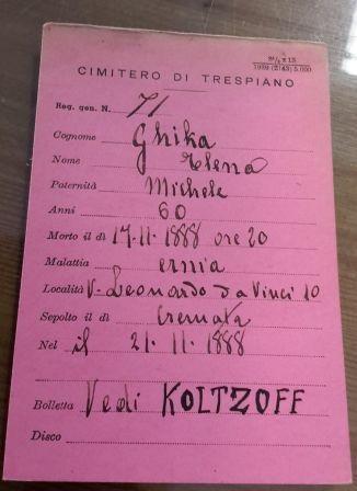 Certificato necroscopico