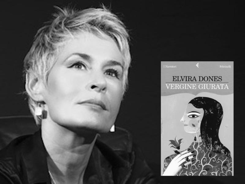 Elvira Dones e il suo romanzo Vergine Giurata