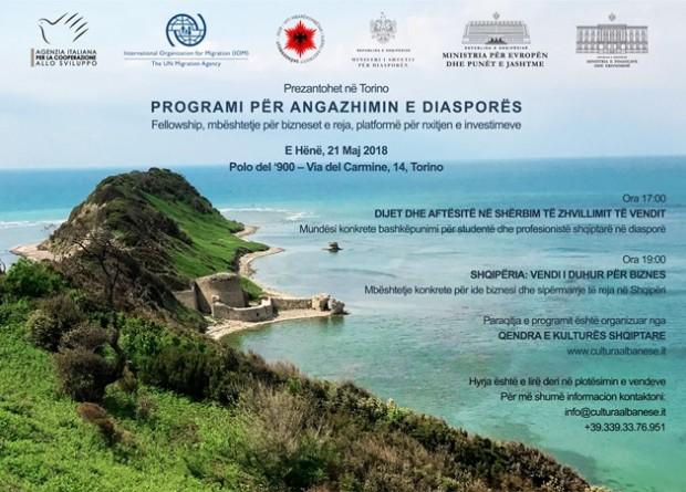 Programi i takimeve të 21 majit në Torino - Shtyp mbi imazh për ta lexuar
