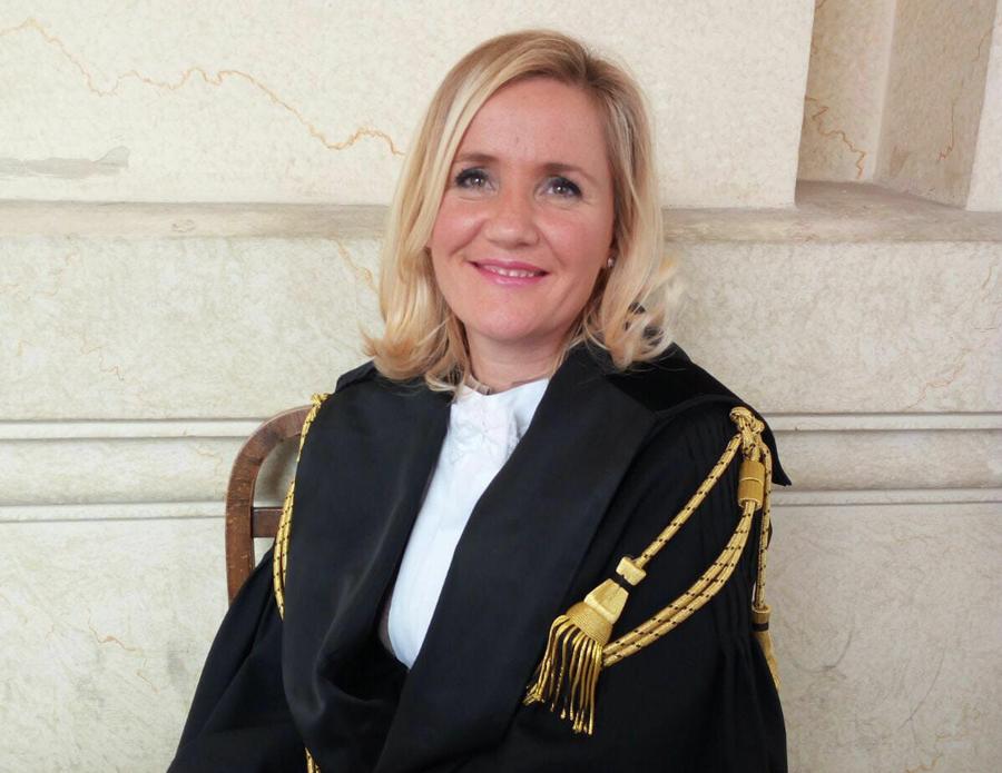 avv. Uljana Gazidede, presidente dell'associazione Avvocati Albanesi in Italia
