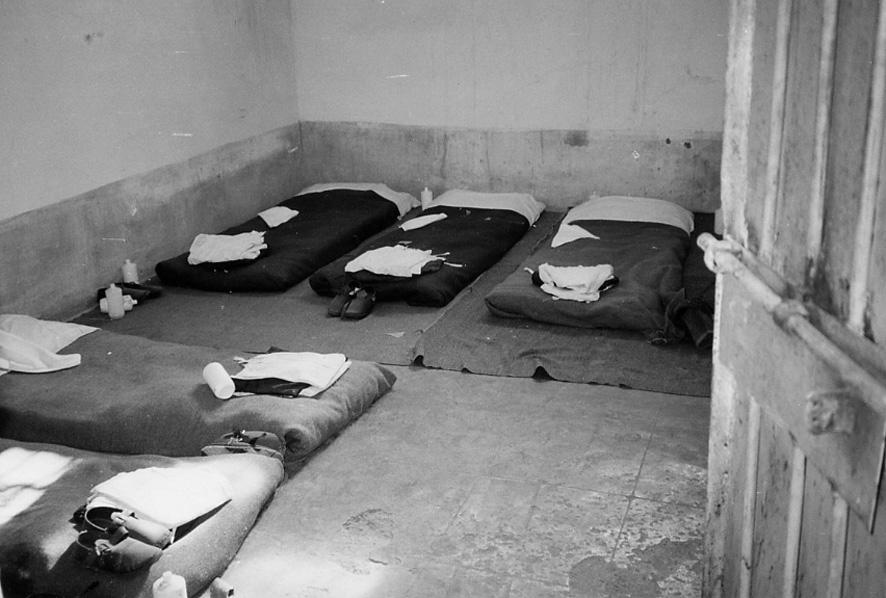 Qelia në burgun e Burrelit ku ishte mbajtur Giuseppe Terrusi
