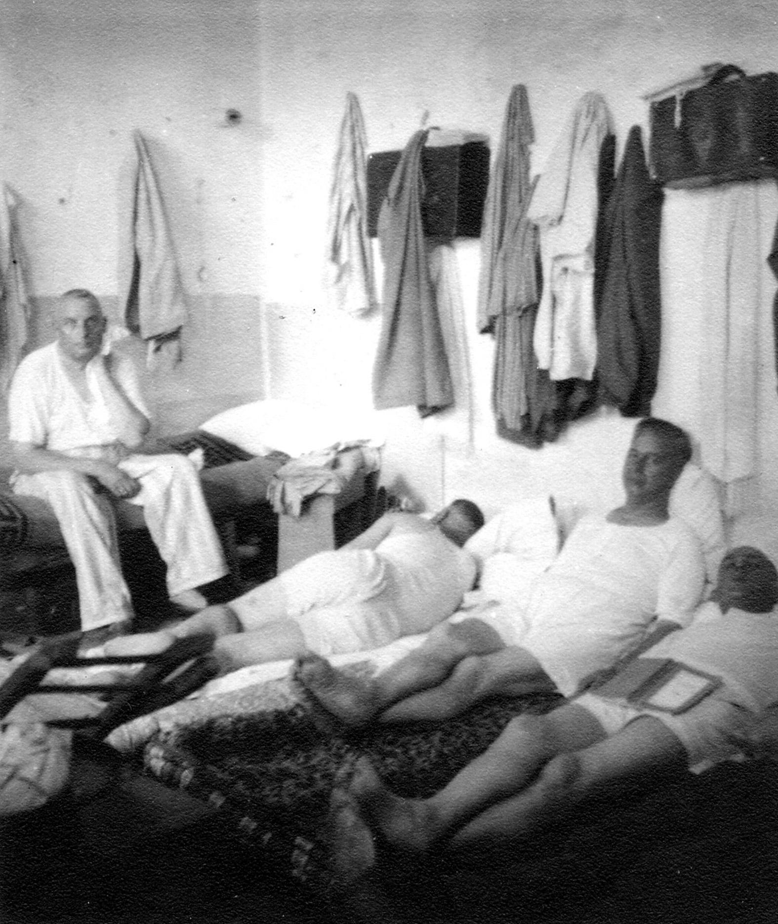 Giuseppe Terrusi në burgun e Vlorës